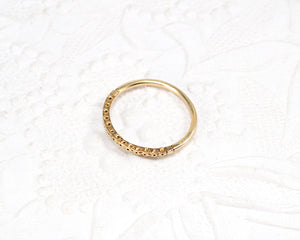 unique wedding ring in gold