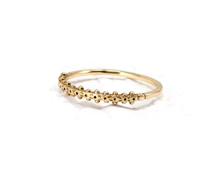 Boho stacking ring