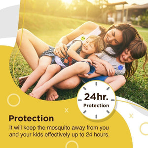 MOSKIPATCH ™ - Natural Mosquito Repellent Patches