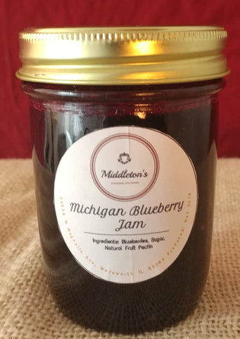 Michigan Blueberry Jam
