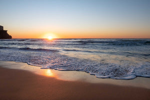 sunrise photo Manly beach Sydney 2nd July 2020