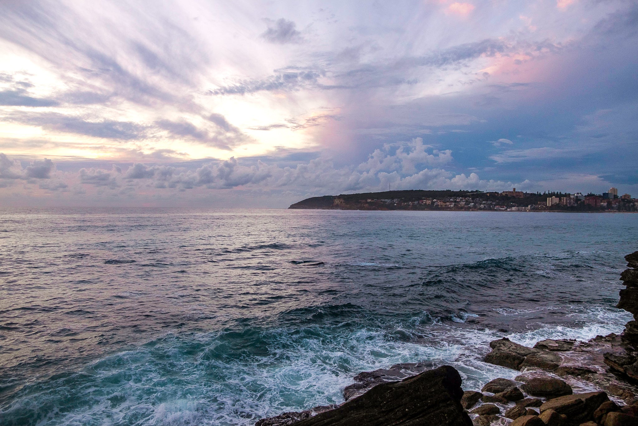 Sunrise photo from the 1st March 2019 at Queenscliff headland in Sydney