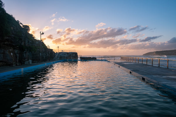 Sunrise photo from the 10th October 2019 at Queenscliff Rock Pool in Sydney