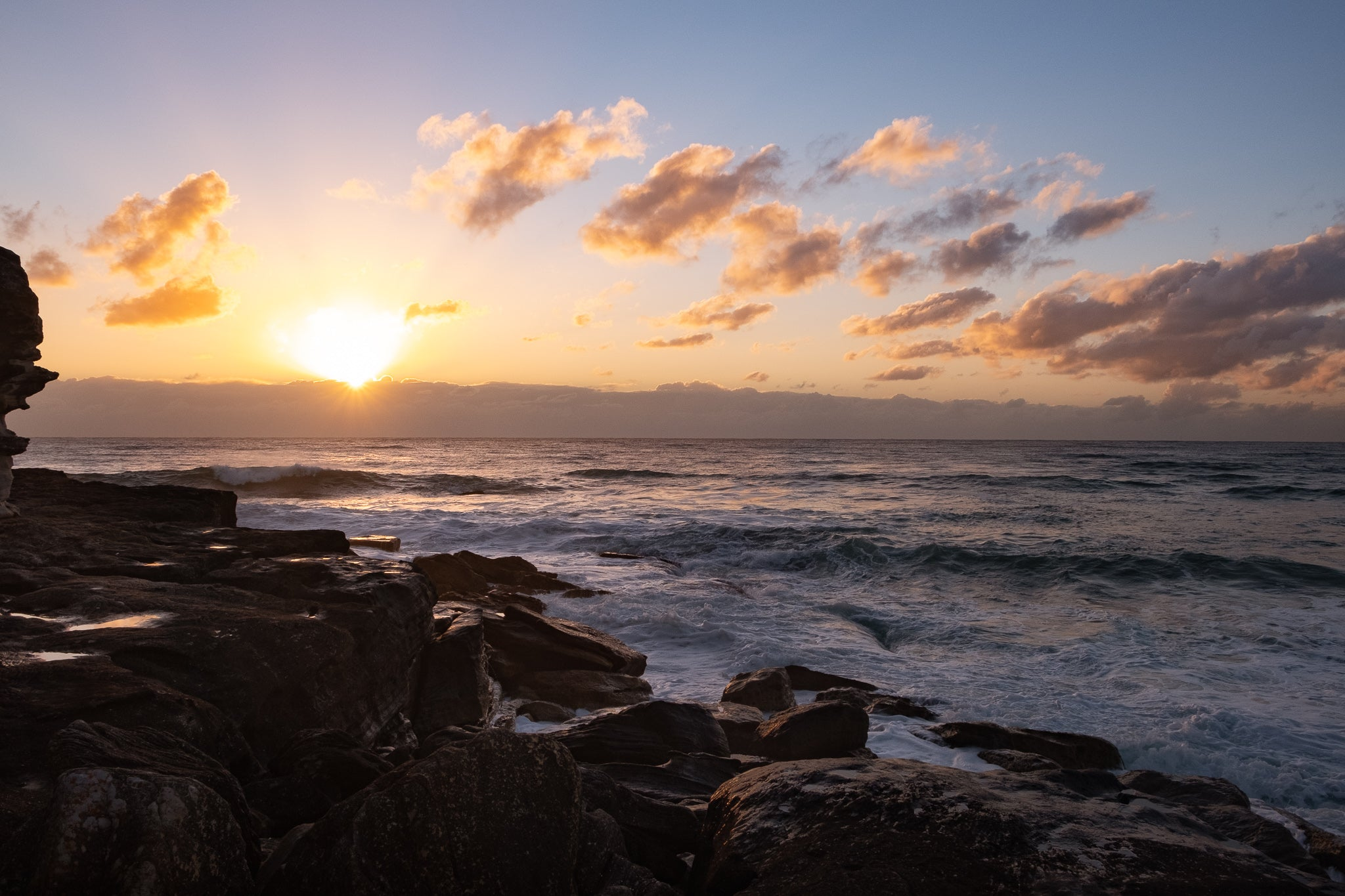 Sunrise photo from the 10th October 2019 at Queenscliff Headland in Sydney