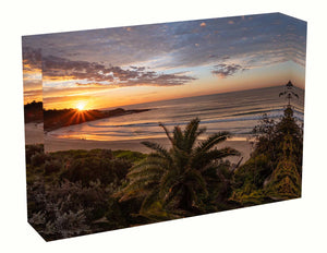 Acrylic block Sunrise photo from the 14th August 2020 at Freshwater Beach, Sydney