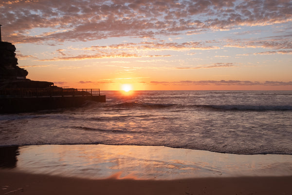 Sunrise photo from 14th October 2019 at Queenscliff Rock Pool, Sydney