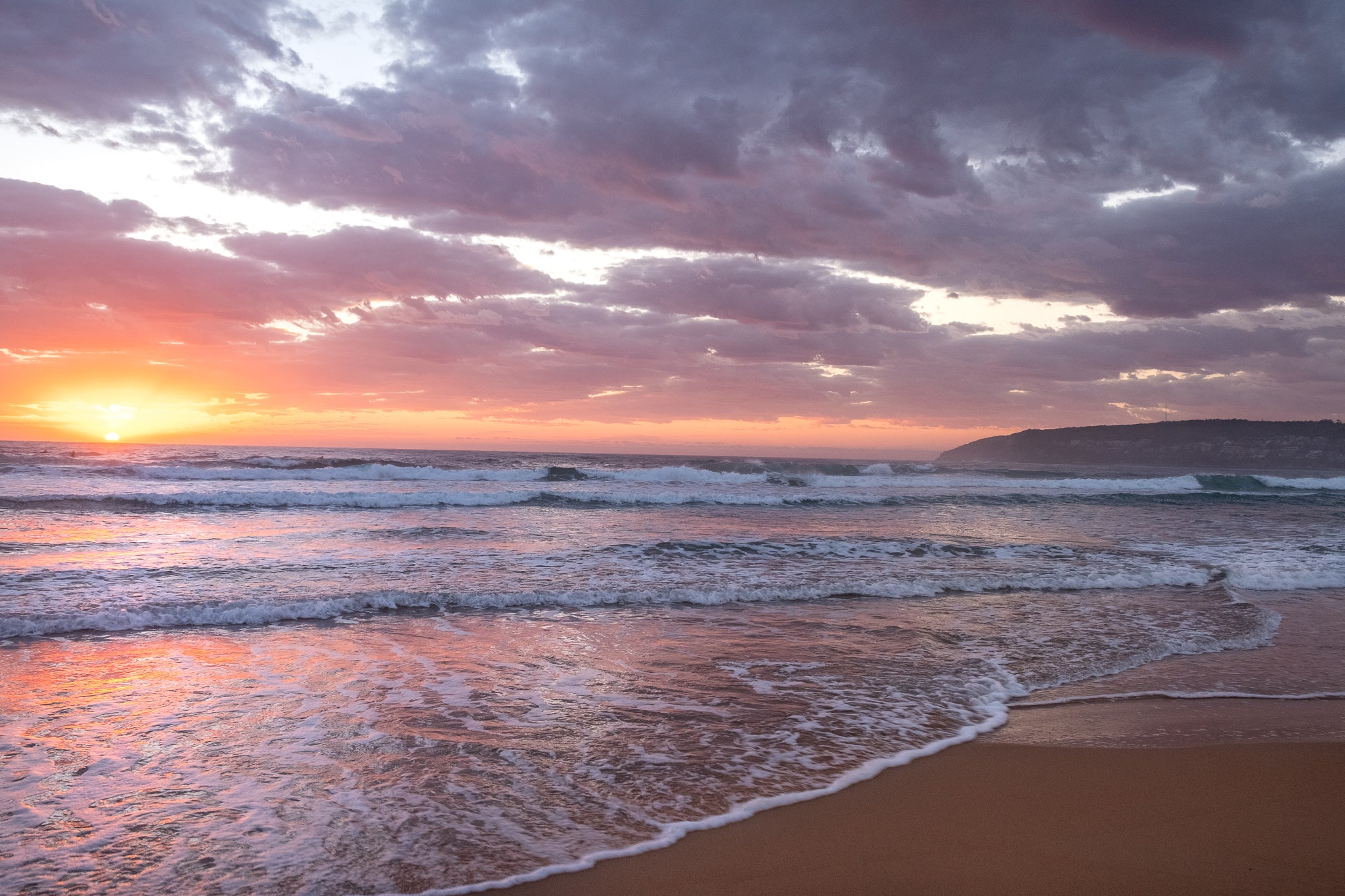 Sunrise photo from 15th October 2019 at Manly Beach, Sydney
