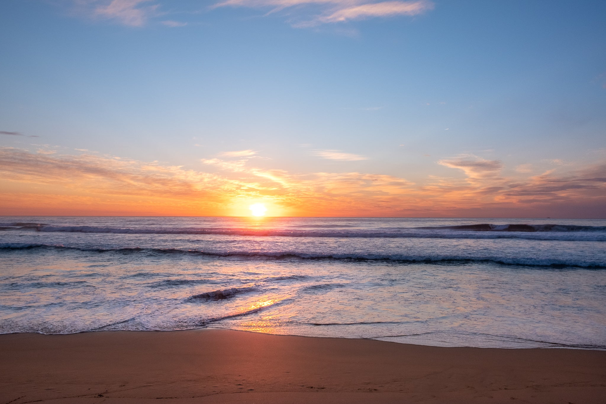Sunrise photo from the 16th September 2019 at Queenscliff Beach in Sydney