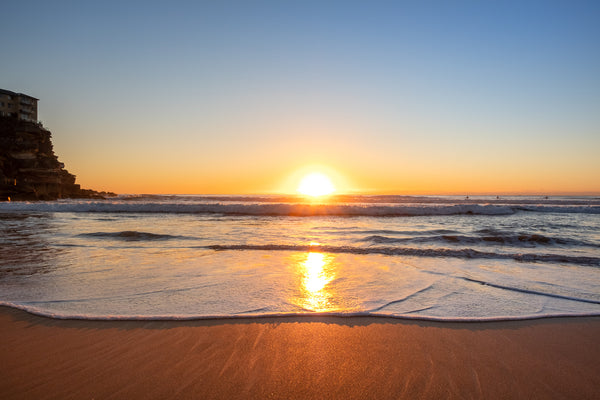 Sunrise photo from 18th October 2019 at Queenscliff Beach, Sydney