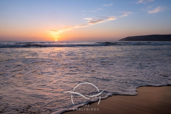 Manly beach Birth Sunrise  22nd January 2021