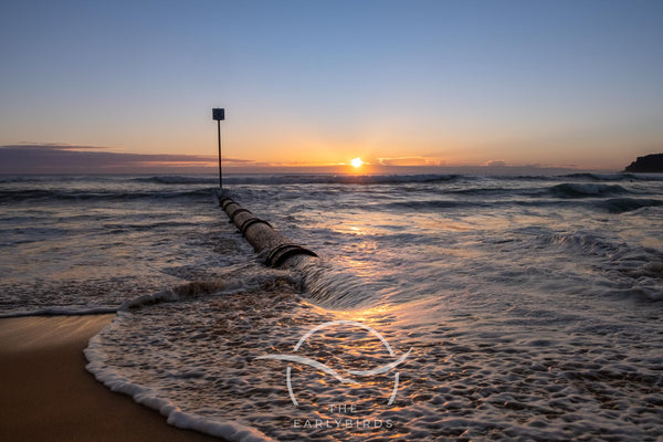 Manly beach Birth Sunrise  7th February 2021 Wedding gift personal unique