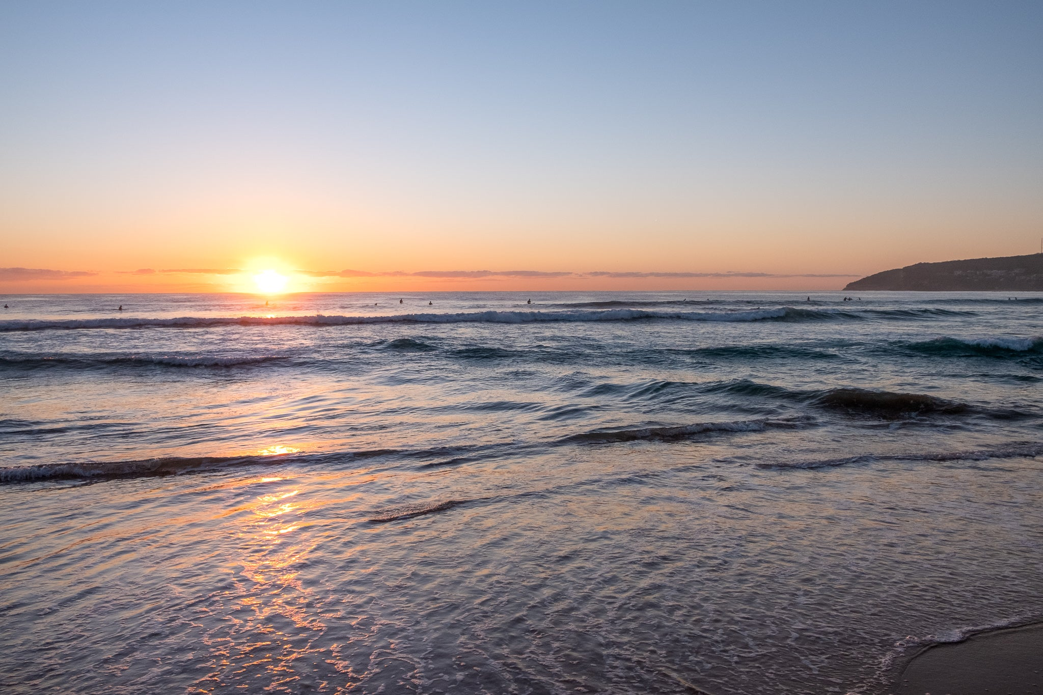 Sunrise photo from 22nd October 2019 at Manly Beach, Sydney