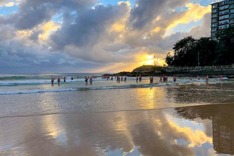 Sunrise photo from the 23rd February 2019 at Manly beach in Sydney