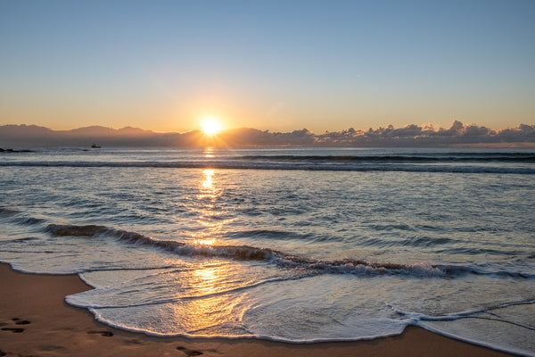 Sunrise photo from the 24th September 2019 at Manly Beach in Sydney