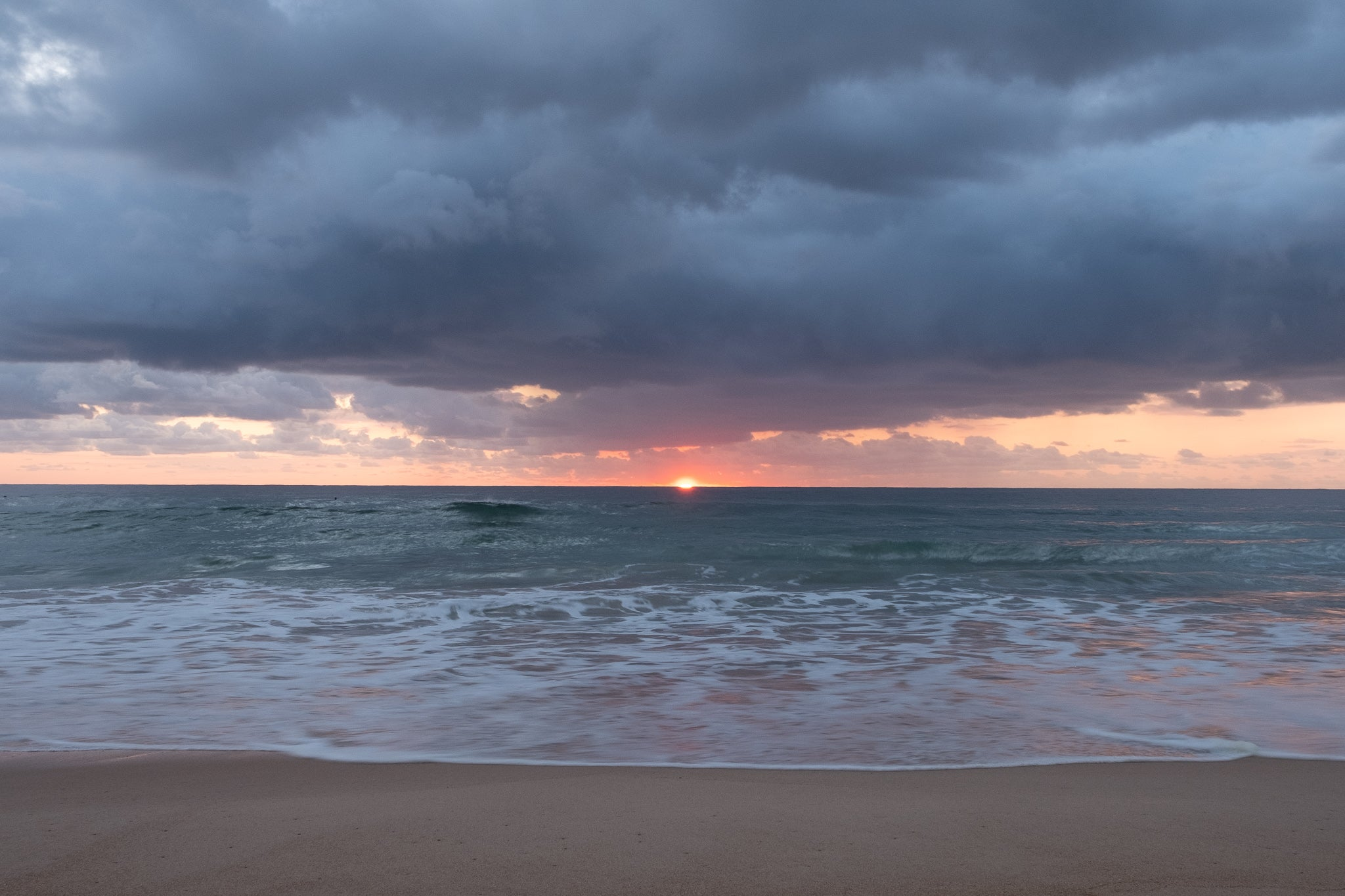 Sunrise photo from the 26th September 2019 at Manly Beach in Sydney
