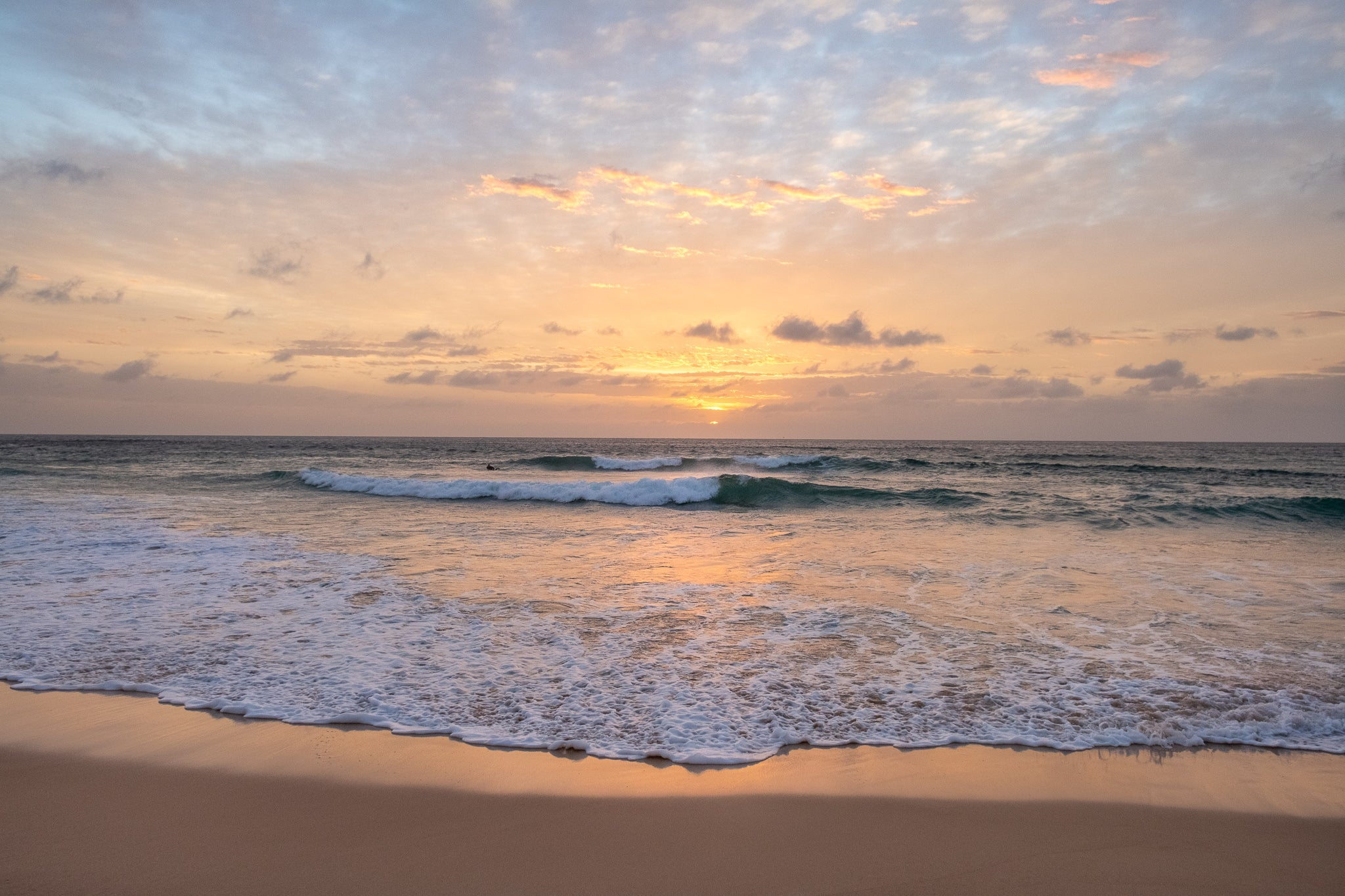 Sunrise photo from the 28th September 2019 at Manly Beach in Sydney