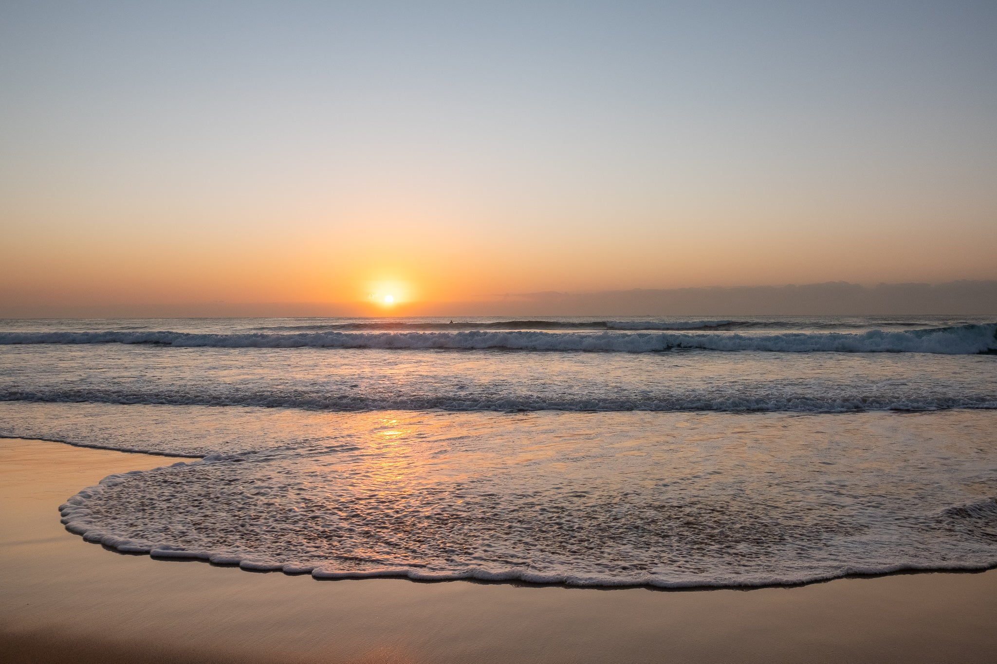 Sunrise photo from the 29th September 2019 at Manly Beach in Sydney
