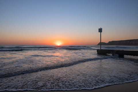 Sunrise photo from the 3rd October 2019 at Manly Beach in Sydney