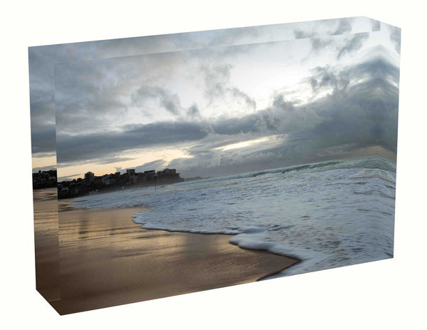 Acrylic block Sunrise photo from 5th May 2020 at Queenscliff beach, Sydney