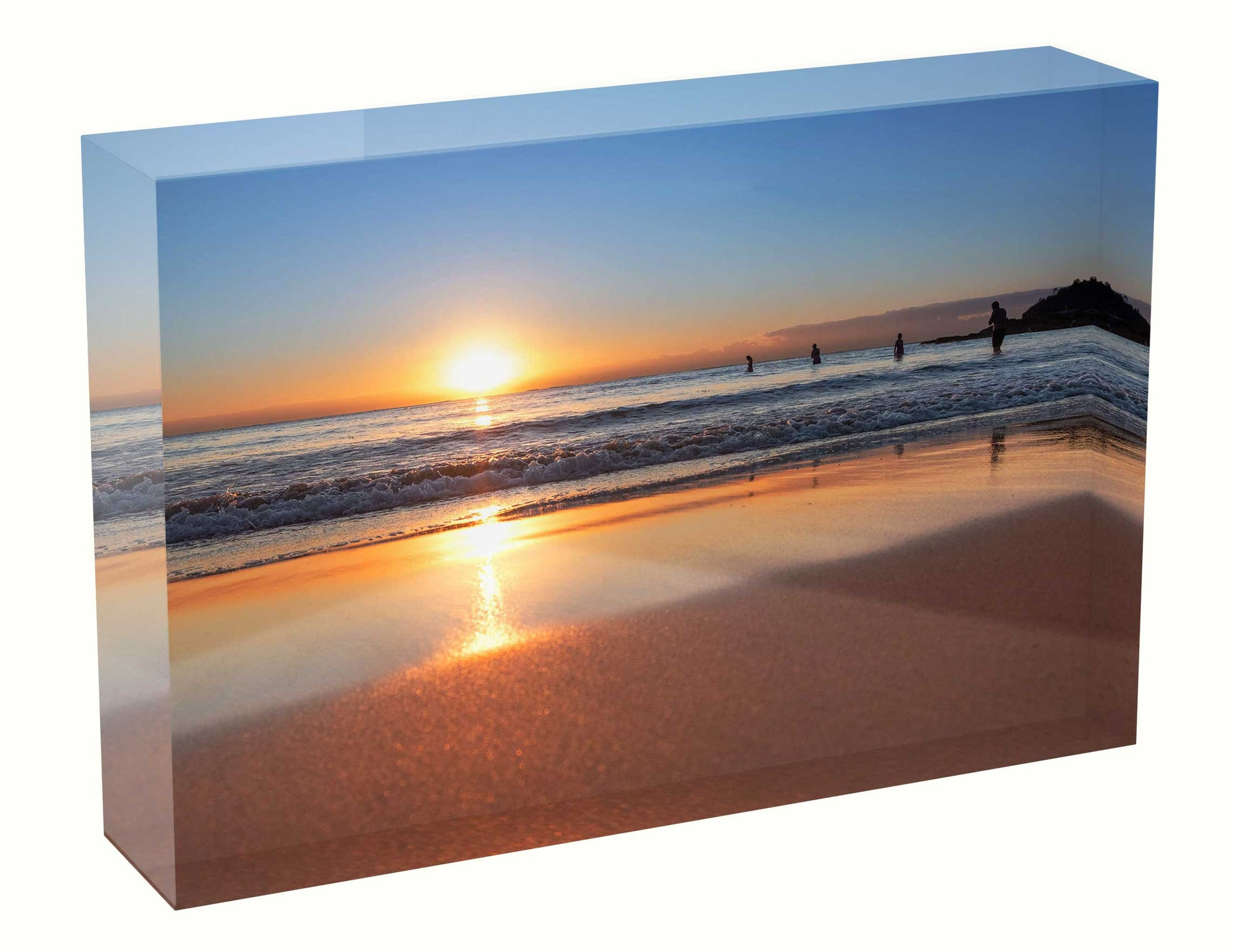 Sunrise photo 6th July 2020 Manly beach Acrylic Block