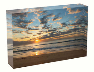 Sunrise photo 7th July 2020 Manly beach Acrylic Block