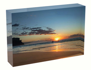 Sunrise photo 9th July 2020 Manly beach Acrylic Block