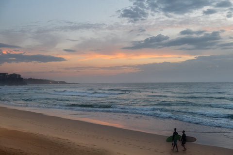 Sunrise photo from the 9th March 2019 at Manly Beach in Sydney
