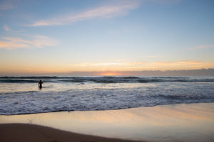 Sunrise photo from the 29th March 2019 at Manly beach in Sydney