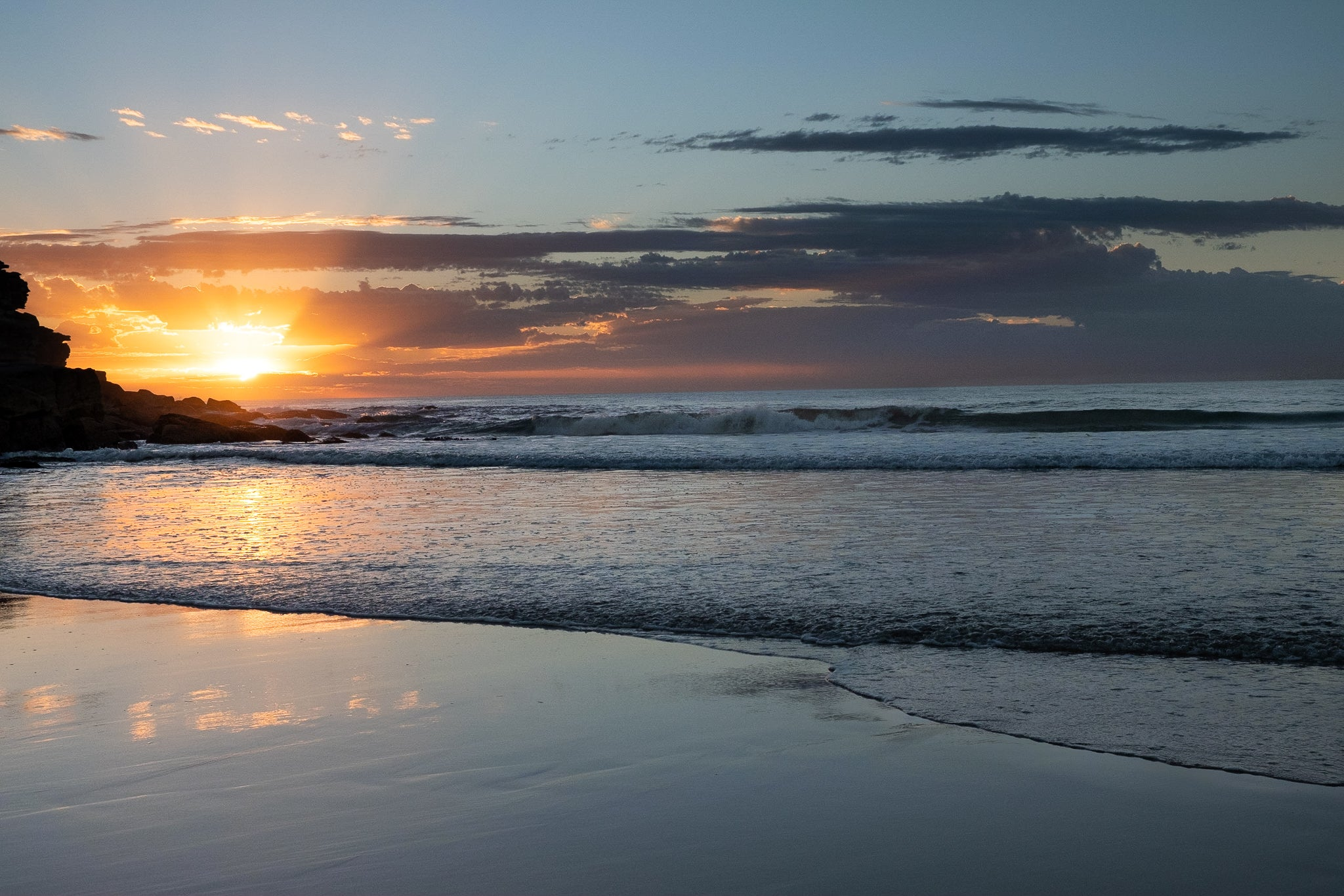 Sunrise photo from the 9th April 2019 at Queenscliff beach in Sydney