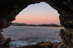 Sunrise photo from the 15th April 2019 at Queenscliff tunnel in Sydney