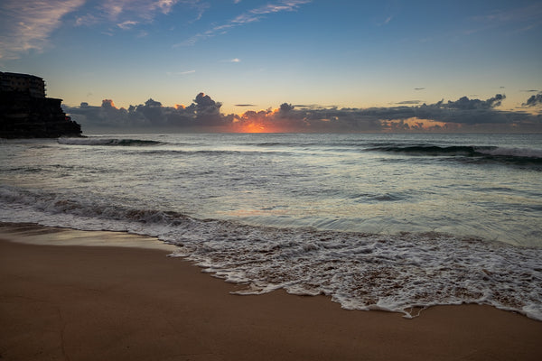 Sunrise photo from the 16th April 2019 at Queenscliff beach in Sydney