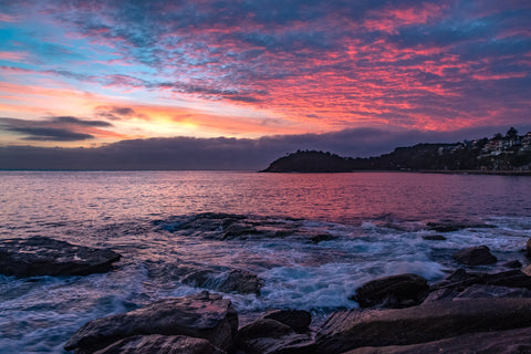 Sunrise photo from the 19th April 2019 at South Steyne Manly in Sydney