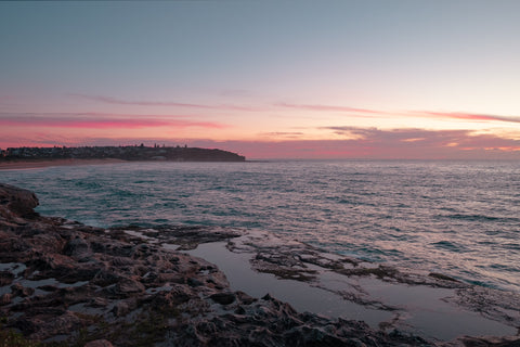 Sunrise photo from the 24th April 2019 at Curl Curl Rock Pool in Sydney