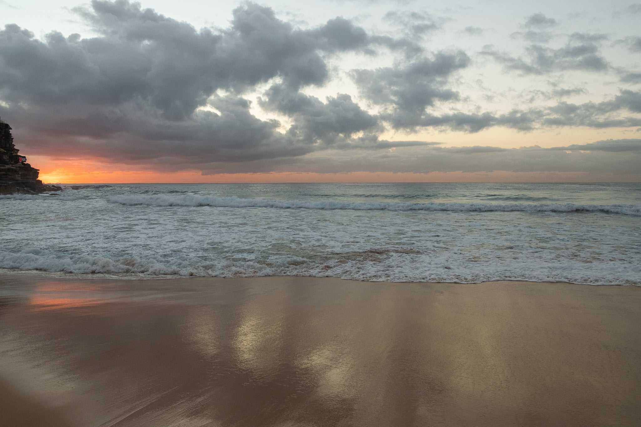 Sunrise photo from the 30th April 2019 at Queenscliff beach in Sydney