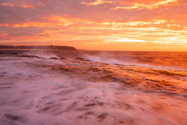 Sunrise photo from the 2nd May 2019 at Freshwater Headland in Sydney