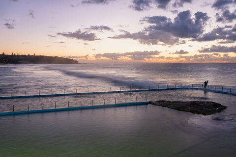 Sunrise photo from the 15th May 2019 at Curl Curl Rock Pool in Sydney