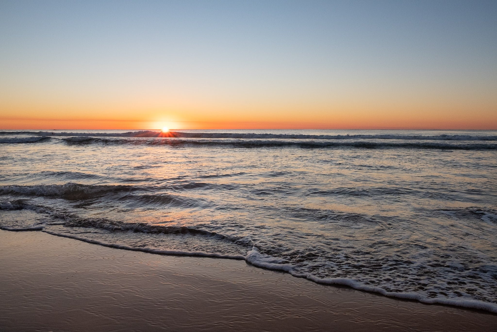 Sunrise photo from the 25th May 2019 at Queenscliff Beach in Sydney