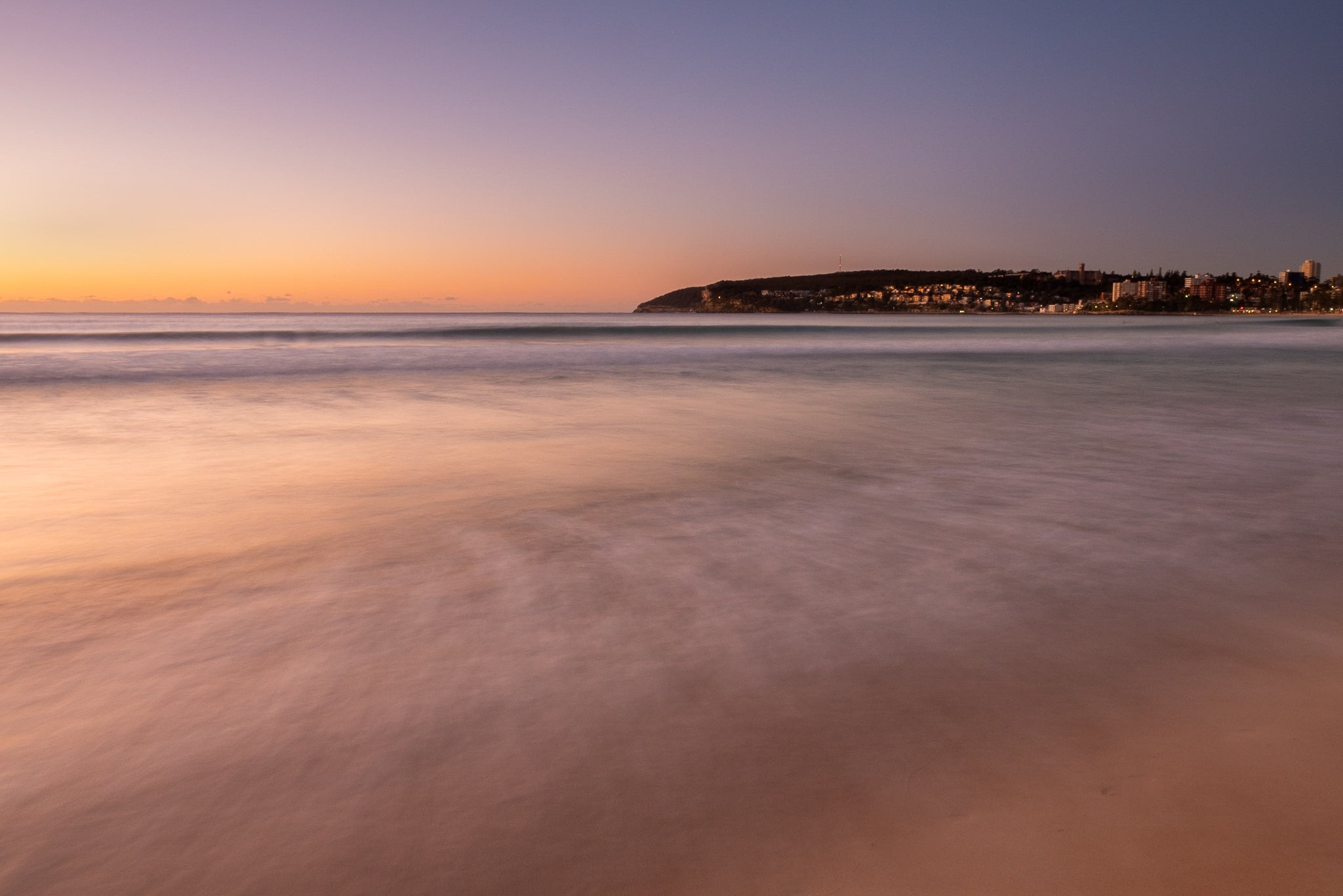 Sunrise photo from the 28th May 2019 at Queenscliff Beach in Sydney