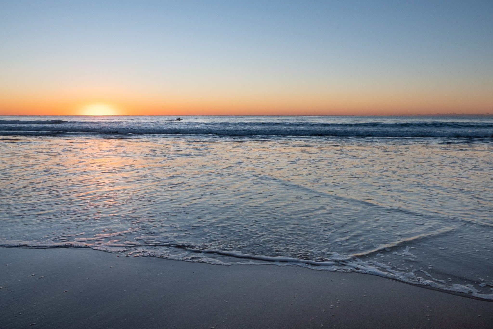Sunrise photo from the 11th June 2019 at Manly beach in Sydney
