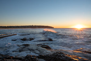 Sunrise photo from the 19th June 2019 at Curl Curl Rock Pool in Sydney