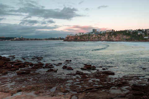 Sunrise photo from the 22nd June 2019 at Freshwater beach in Sydney
