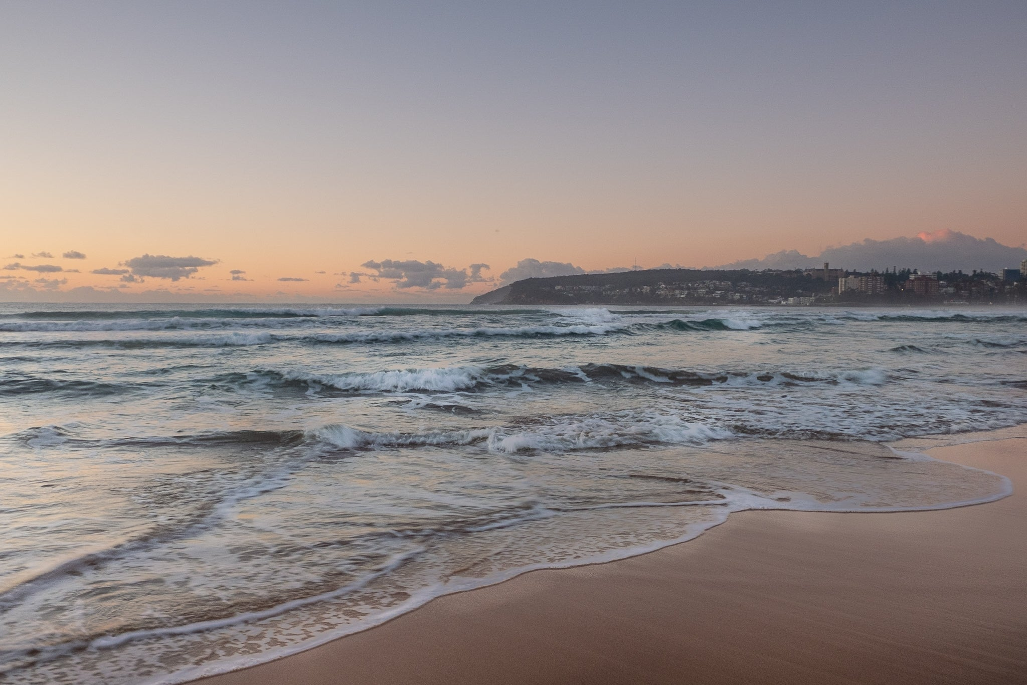 Sunrise photo from the 27th June 2019 at Queenscliff beach in Sydney
