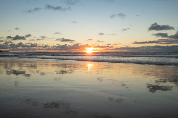 Sunrise photo from the 6th July 2019 at Manly beach in Sydney