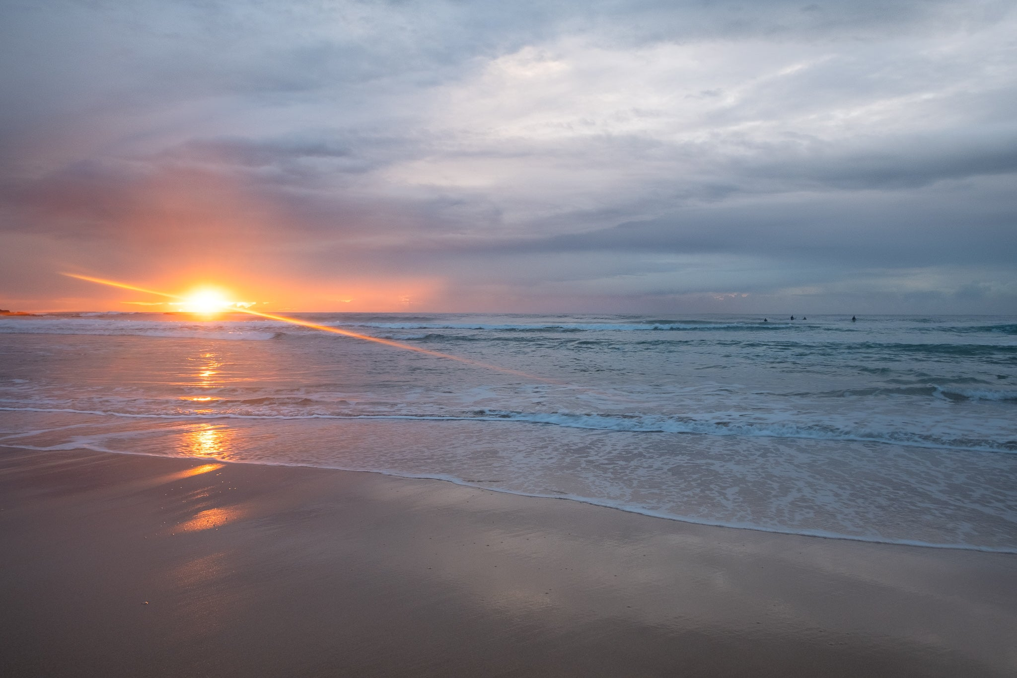 Sunrise photo from the 8th July 2019 at Queenscliff beach in Sydney
