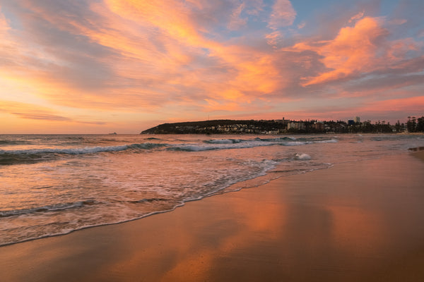Sunrise photo from the 11th July 2019 at Queenscliff beach in Sydney
