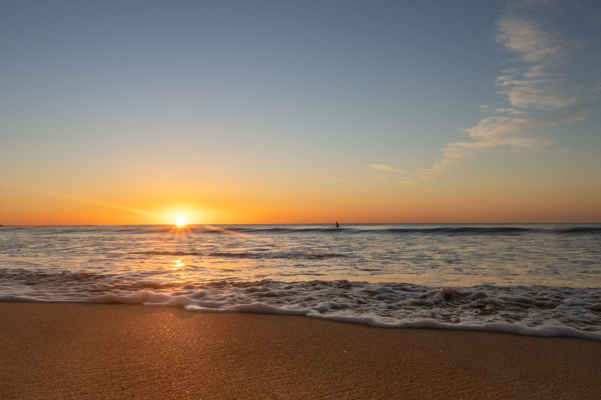 Sunrise photo from the 12th July 2019 at Manly beach in Sydney