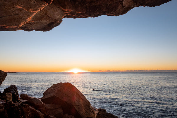Sunrise photo from the 18th July 2019 at Queenscliff tunnel in Sydney