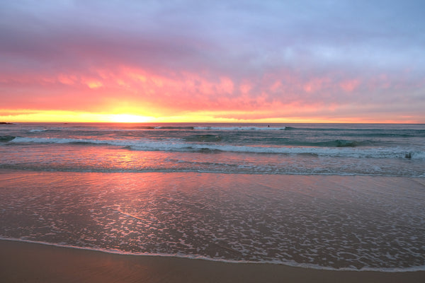 Sunrise photo from the 22nd July 2019 at Manly Beach in Sydney