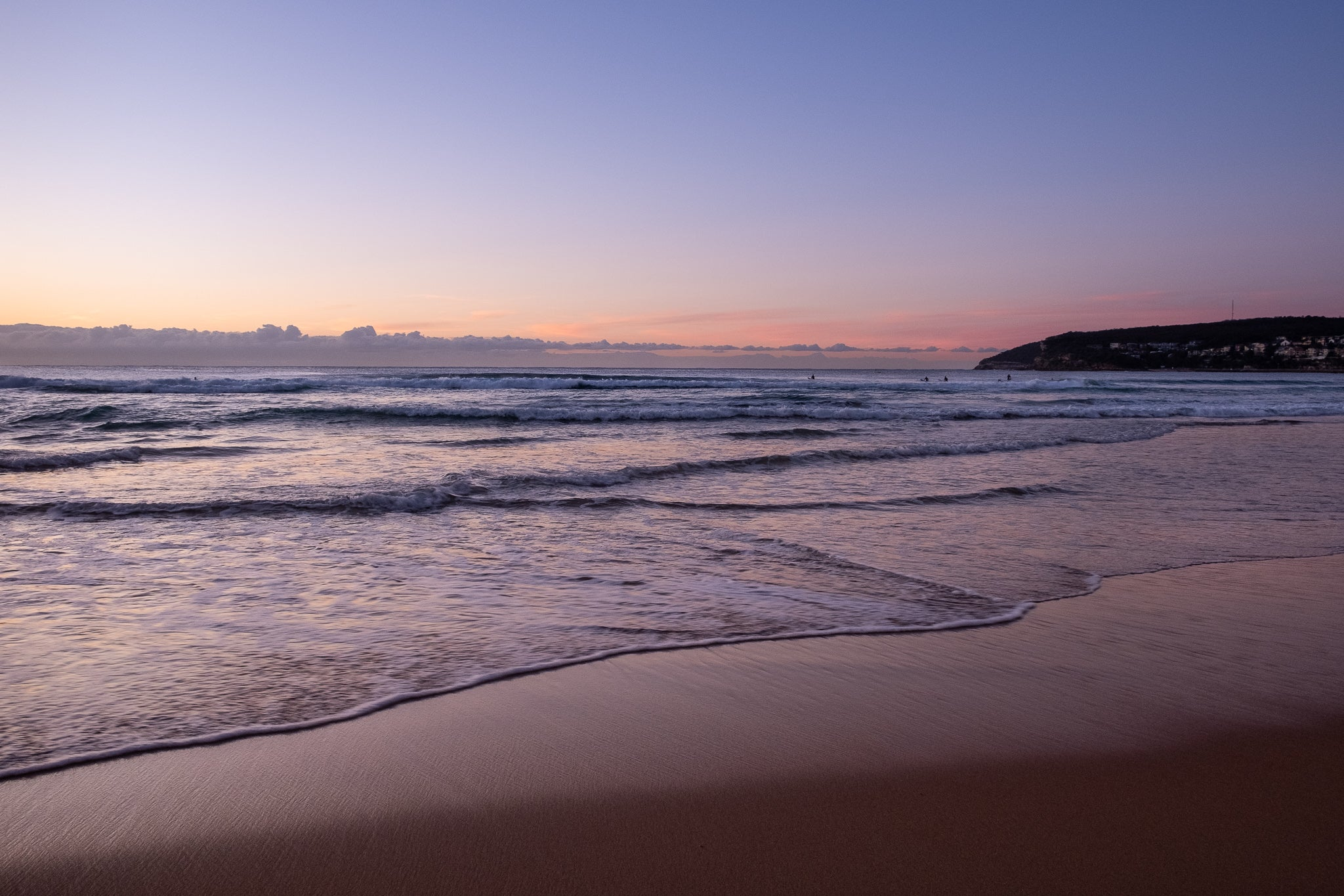 Sunrise photo from the 25th July 2019 at Queenscliff Beach in Sydney