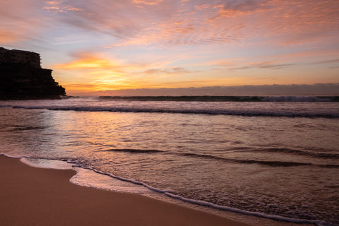 Sunrise photo from the 26th July 2019 at Queenscliff Beach in Sydney